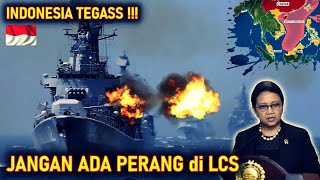 SEMAKIN TEGAS !! INDONESIA PERIlNGATKAN AS MAS4LAH PĒR4NNĠ di KAWASAN LCS