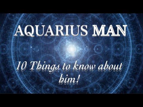 Aquarius man dating traits