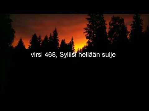 Virsi 468, Syliisi hellään sulje