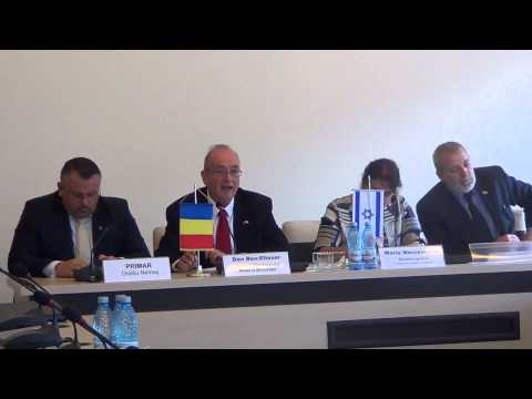 Conferinta de presa: Dan Ben Eliezer, ambasadorul Statului Israel la București @ Primaria Sighet p2)