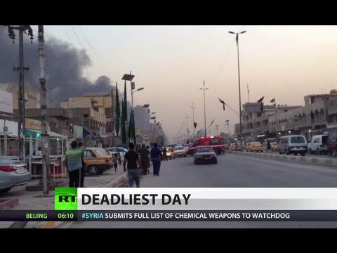 Over 90 killed in one day: 'US invasion main cause of deaths in Iraq'