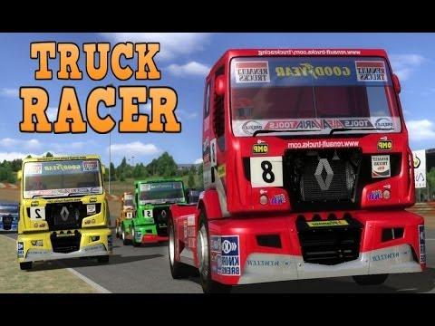 Truck Racer - кольцевые гонки на грузовиках