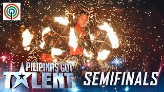 Pilipnas Got Talent Semifinals: Legendary Fire Artists - Fire Dance Group