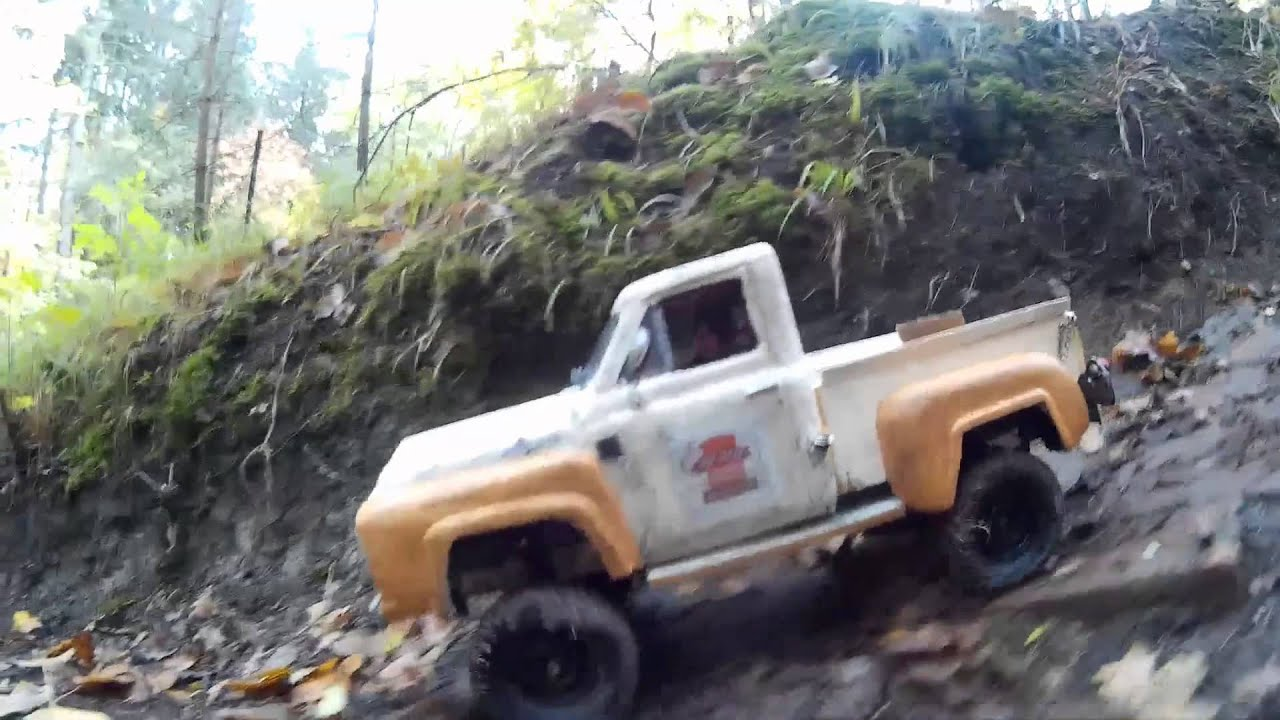 RC Scale Offroad Building Ford F100 1953 1/10 - YouTube