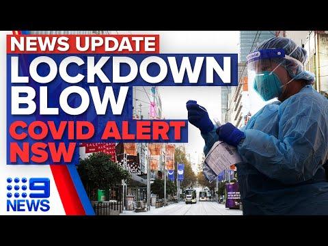 Lockdown extension looming in Victoria, health alert issued for NSW   Coronavirus   9 News Australia