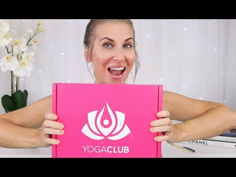 YOGA CLUB UNBOXING & TRY ON