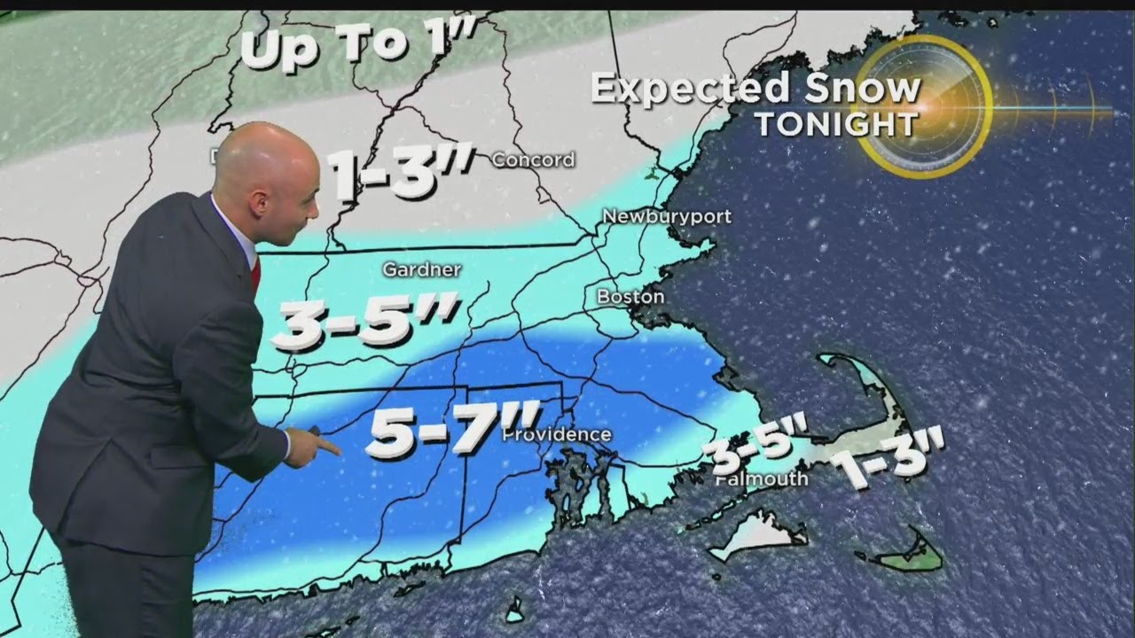 WBZ Evening Forecast For Feb. 17