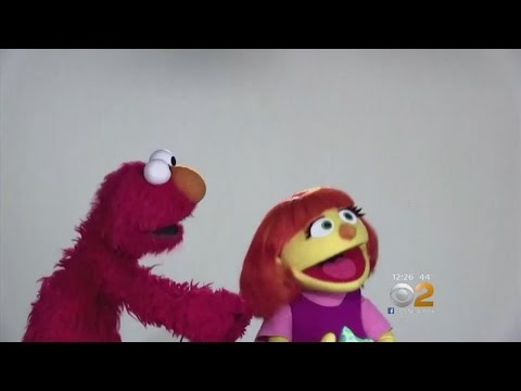 Sesame Street Welcomes Autistic Muppet