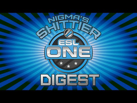 Nigma's Shittier ESL One Digest 2015