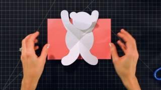 How to Make a Teddy Bear Pop-Up Card   Pop-Up Cards