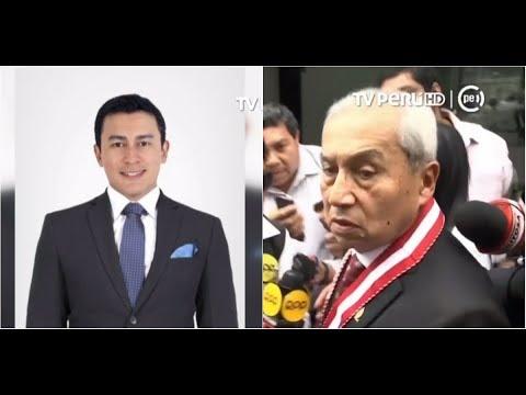 Polémica por hijo de fiscal Pedro Chávarry que trabajó en el CNM