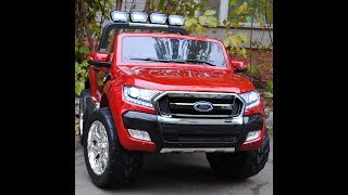 видео: Обзор электромобиля Ford Ranger  4x4