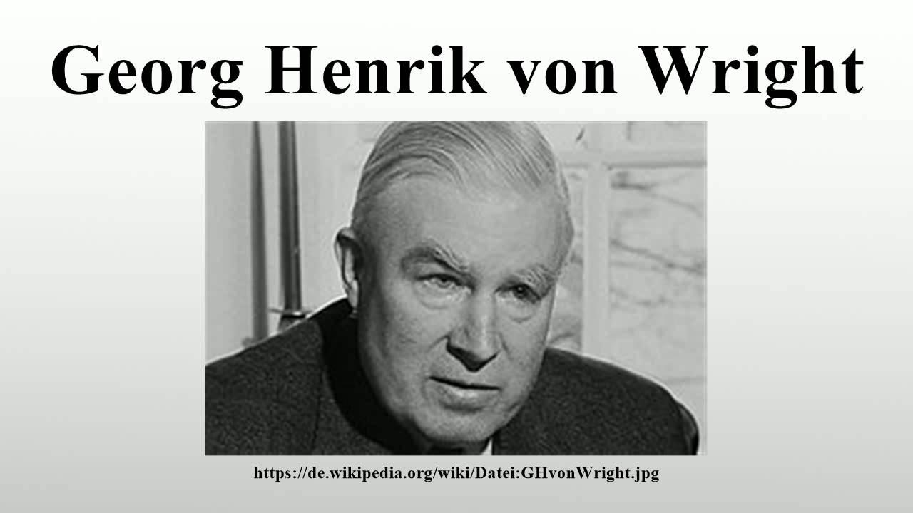 Georg Henrik Von Wright