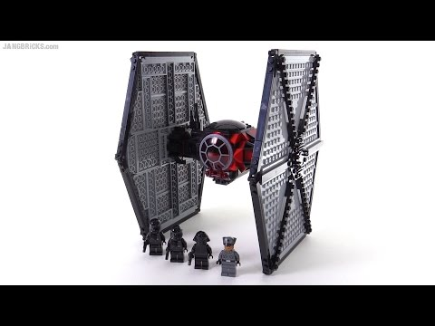 LEGO Star Wars First Order Special Forces TIE Fighter review! 75101