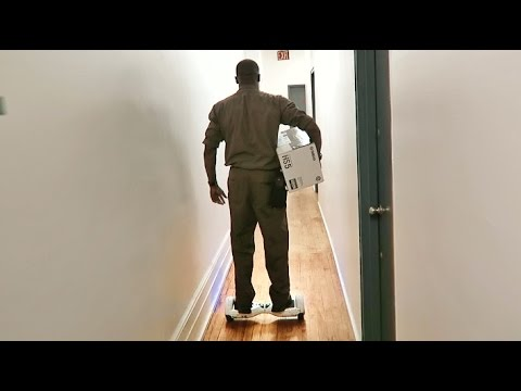 Thumbnail: Hover Board Delivery Man