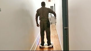 Hover Board Delivery Man