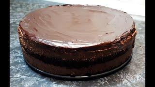 Торт ТРЮФЕЛЬНЫЙ Простой рецепт лучшего в мире шоколадного торта к чаю ТРЮФЕЛЬ Truffle Cake Recipe