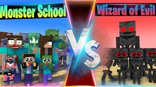FAMILY VS FAMILY 2 - WHO IS THE STRONGEST MONSTERS - MONSTER SCHOOL