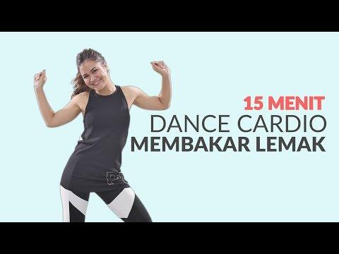 Membakar Lemak Seluruh Tubuh Dengan Gerakan 15 Menit Dance Cardio