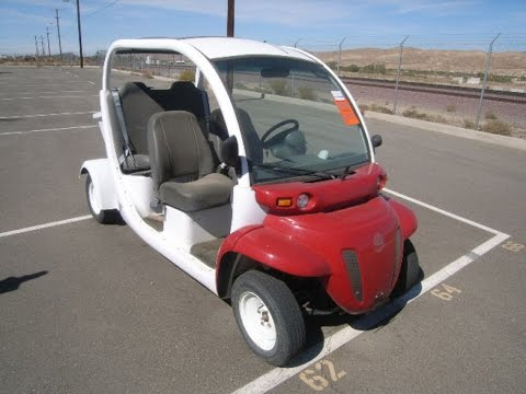 2001 Global Electric Motor Cars Gem Car On Govliquidation