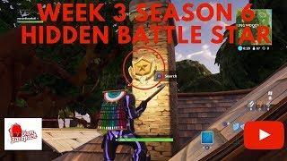 Fortnite Week 3 Season 6 Hidden Battle Star