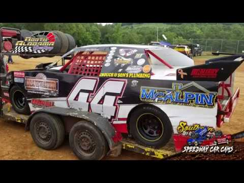 Winner - #44 Joe Wilson - Mini Stock - 7-14-18 North Alabama Speedway - In Car Camera