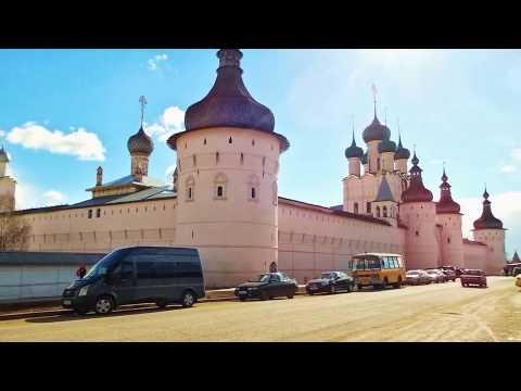 Кремль в Ростове Великом слайд-шоу The Kremlin In Rostov The Great