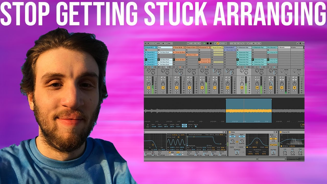 How To Arrange Your Tracks QUICKLY & Stop Getting So Stuck [+Template]