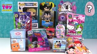 Candy Batman Hatchimals Colleggtibles Shopkins Trolls Disney Blind Bag Toy Opening | PSToyReviews