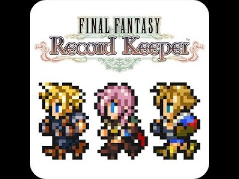FFRK Trapped By The Past Rare Relic Draw Phase 1