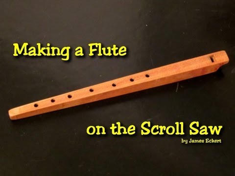 Making A Wooden Flute Youtube