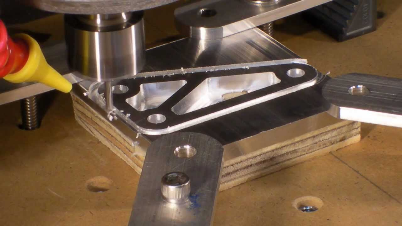 Homemade Diy Cnc Series 1 4 Thick Aluminum Test Bracket