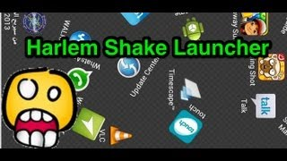 Harlem Shake Launcher Android App Review - CrazyMikesapps