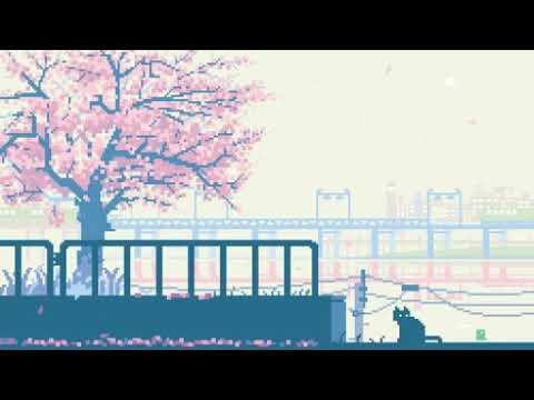 【Pixel Art GIF】Relaxing Music #8