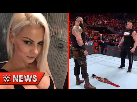 Maryse Ouellet Photos Leaked?! Future Plans For Braun Strowman REVEALED!  WWE  Ep. 112