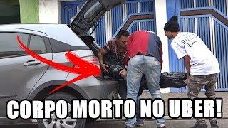 PEDI UM UBER COM CORPO MORTO!! #RESPONDAGABRIEL44
