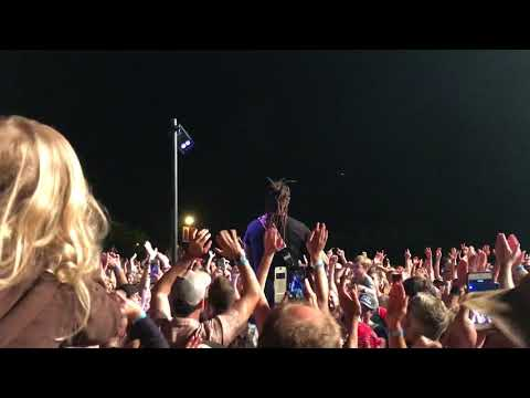 "Michael Franti and Spearhead. ""Love Out Loud"". Live @ Les Schwab Amphitheater. Bend, Or"