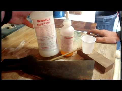 A simple stock repair you can do on your own Part 1
