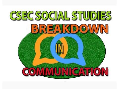 Breakdown In Communications