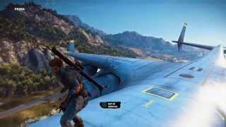 Just Cause 3 - Biggest Plane in the Game - Cargo Plane Gameplay