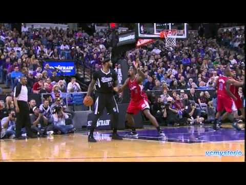 Derrick Williams highlights vs LA Clippers (2013.11.29) - First SK Debut