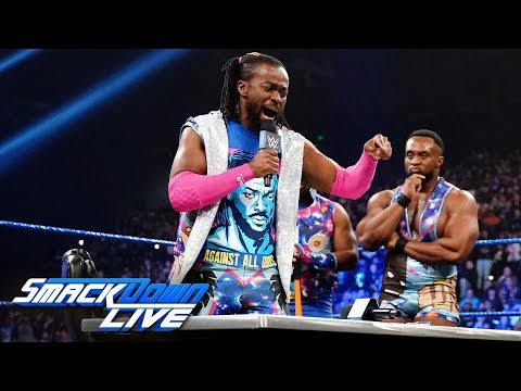 kofi-kingston-and-daniel-bryan-sign-their-wrestlemania-contract:-smackdown-live,-april-2,-2019