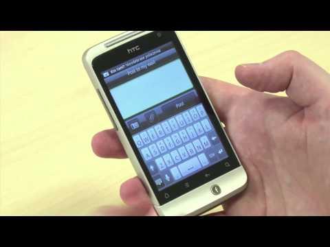 HTC Salsa - hands-on