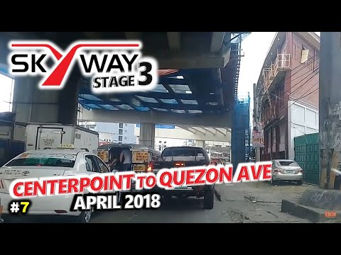 METRO MANILA SKYWAY STAGE 3 Update 7 ◈ Aurora Blvd to Quezon Ave, Quezon City ◈ City Tour