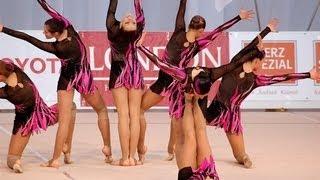 Эстетическая гимнастика. Красота и грация художниц
