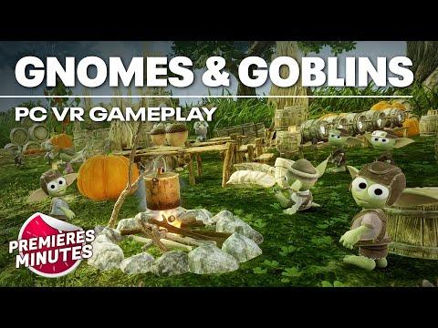 Gnomes & Goblins - Gameplay PC VR (Oculus Rift, HTC Vive, Valve Index)