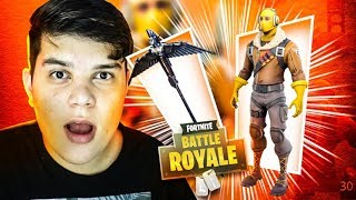 LENDARIO SKIN DO RAPTOR NO FORTNITE - JUAUM