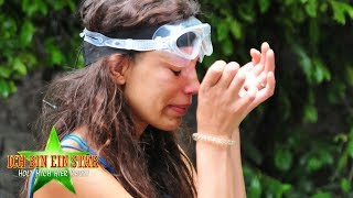Dschungelcamp 2019 | Gisele bricht zum 5. Mal die Prüfung ab