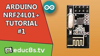 Arduino Tutorial: Arduino NRF24L01 Wireless Tutorial with Arduino Uno