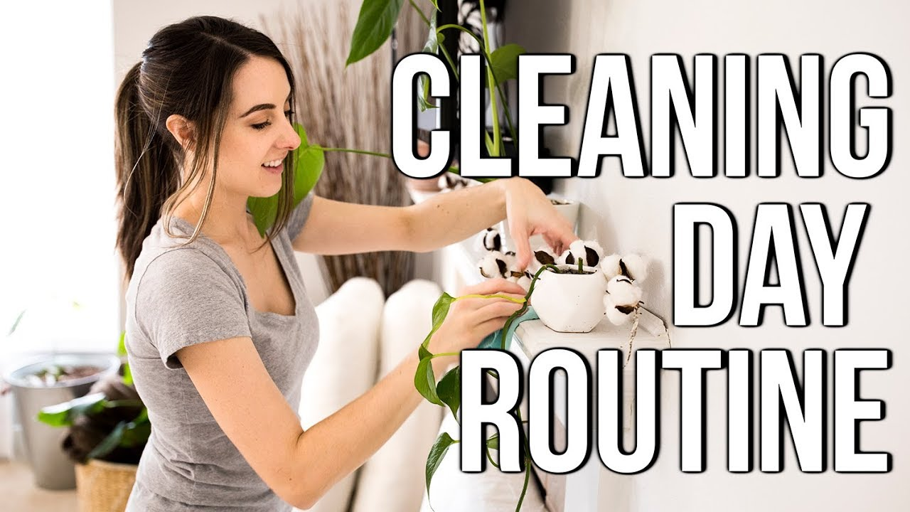 Stay At Home Mom Of 4 Cleaning Day Routine 2019